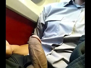 Dick while on a train | bus   dicks