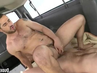 These two hot straight studs are having anal sex | anal top  straight  studs  two movie