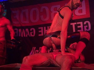 Fostter riviera and borck hatcher hustlaball berlin 2014   fisting