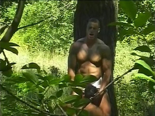 Spicy hard bodied muscled studs pounding ass holes in the woods | ass collection  hardcore  muscular  pounding  studs