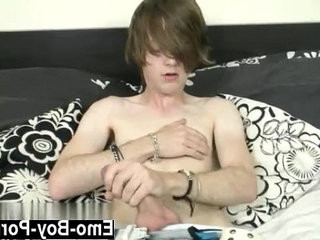 Gay XXX Horny emo man Tyler Archers milks his ample salami in this | emos hot  gays tube  horny  man movie