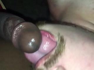 White Guys Love Black Cum | bigcock  black tv  cums  eating  loving  white