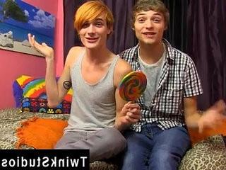 Gay twinks Preston Andrews and Blake Allen feast LollipopTwinks   black tv  brownhair  gays tube  twinks