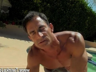 Nude men Daddy Poolside Prick Loving | daddy  loving  mens  nude  outdoors