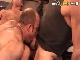 Mature Men Engage In Hot Threeway | mature   mens   oral   threeway