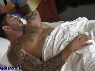 Mature gay hunk fucking tattooed boyfriend | anal top   fucking   gays tube   hunks best   mature   tattooed