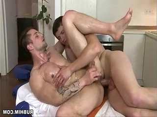 Enchanting muscled hunks in bareback anal hole oiled encounter | anal top   bareback   hole xxx   hunks best   muscular