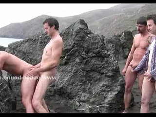 Public beach chosen by gay masters | beach   gays tube   public