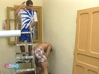 An innocent accident on painting leading to hot gay action   action  boys  gays tube